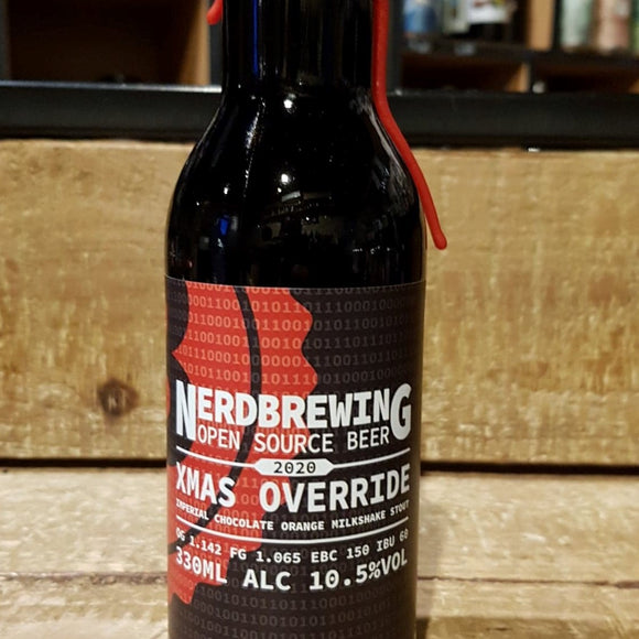 Nerdbrewing - Xmas Override - Stout - 33cl 10,5°