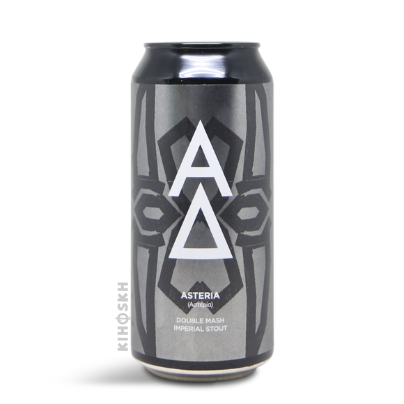 Alpha delta Asteria imperiale stout 44cl can 14°