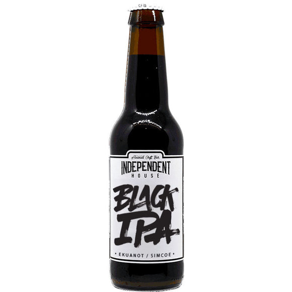 Independent House - Black IPA - 33cl - 7.5°