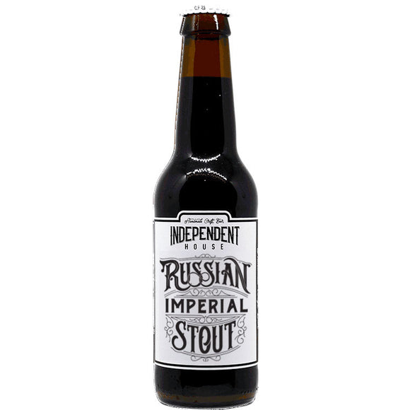 independent House - Imperial stout - 33cl - 10°