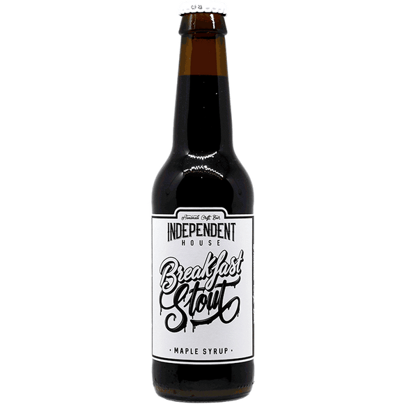 Independent house - Breakfast stout Sirop d'erable - 33cl - 5.5°
