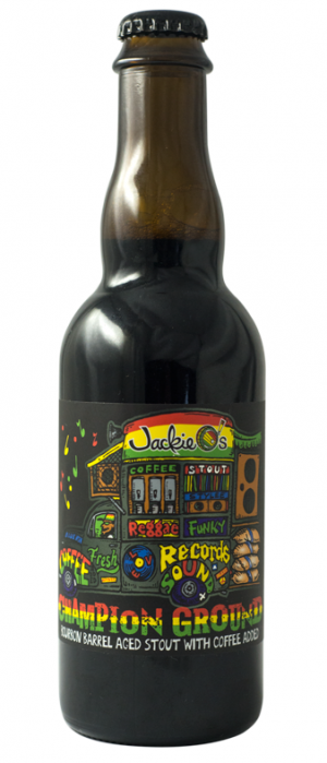 Jackie O - Bourbon Barrel Champion Ground - Stout - 37,5CL 12°