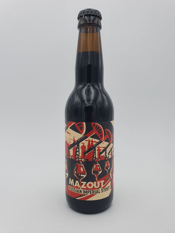 Hoppy Road - Mazout - Imperial stout - 33cl - 11.5°