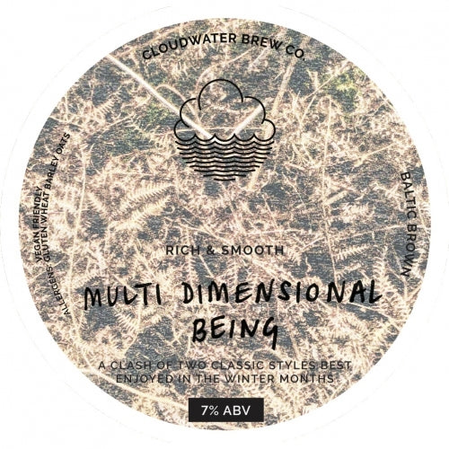 Cloudwater - Multi Dimensional Being - Baltic Brown - 44CL 7°