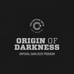 Collective Arts w/ Crack - Origin of Darkness - Stout - 50CL 8,4°