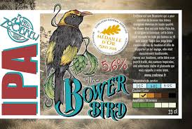 Zoobrew - Bower Bird IPA 33cl - 6.4°