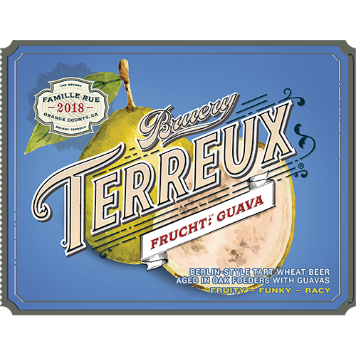 The Bruery Terreux - Frucht: Guava - Berliner Weiss - 75CL 4,3°