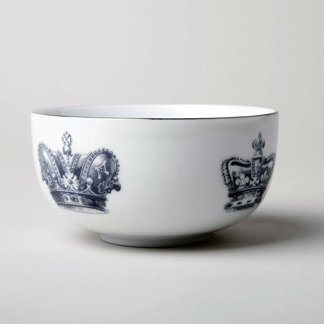 """CROWNS"" Set of 4 BOWLS"