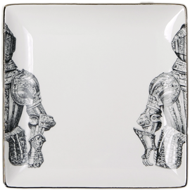 """ARMOR 1"" Set of 4 SALAD PLATES"