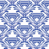 Watercolor - Cobalt Wallpaper - The Blush Label