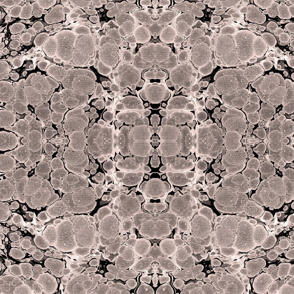 Copper Kaleidoscope Wallpaper - ABRA Collection
