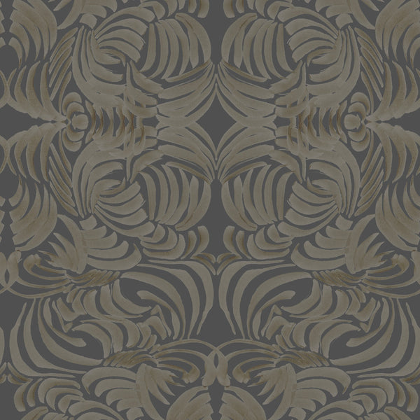 """GOLDENROD FLORA"" ABRA REMOVABLE WALLCOVERING"
