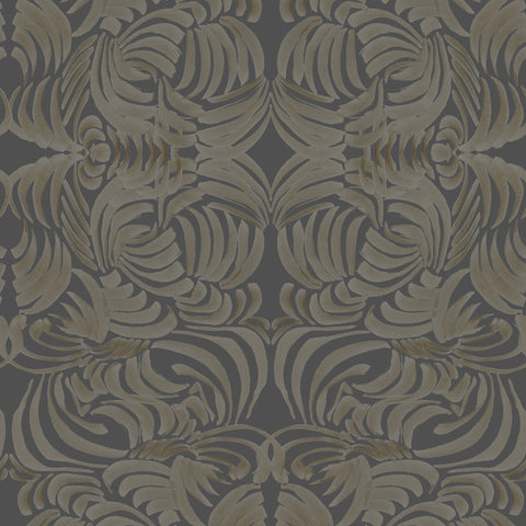 Goldenrod Flora Wallpaper - ABRA Collection