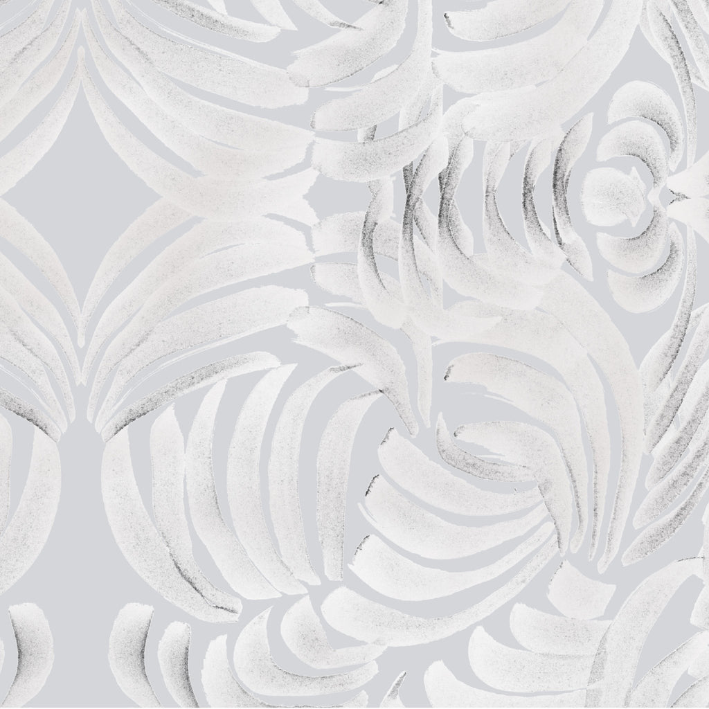 Large Porcelain Flora Wallpaper - ABRA Collection