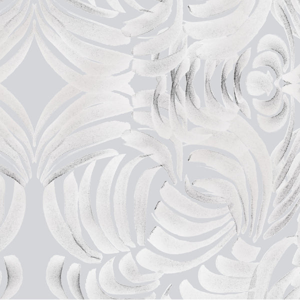 """LARGE PORCELAIN FLORA"" ABRA REMOVABLE WALLCOVERING"