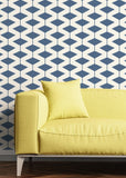 Abacus - Coastal Blue Wallpaper - Art in Chaos