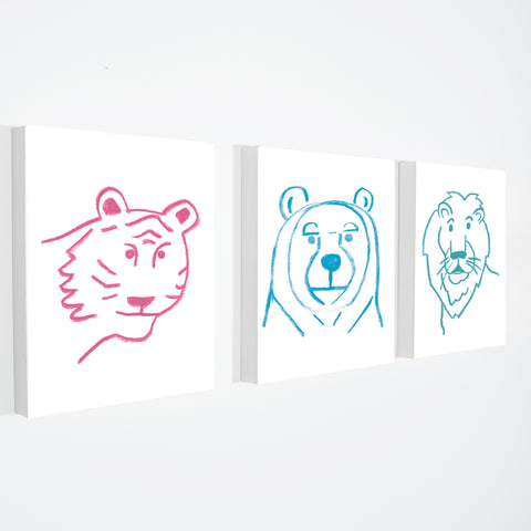 BEAR - Stretched Canvas
