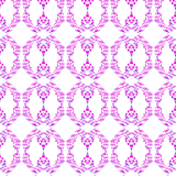 Beverly Link Fuschia Wallpaper - The Blush Label