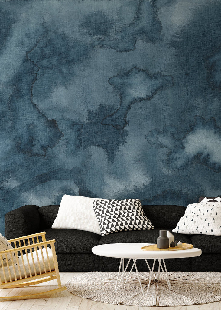 Moonlight Joyfire Mural Mitchell Black Wallpaper Chicago