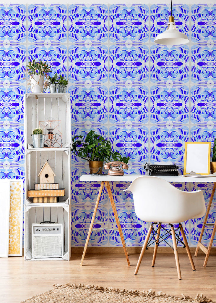 Wall Tile Morocco in Blue
