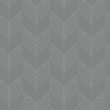 Chevron - Greystone - Organic Wallpaper Collection