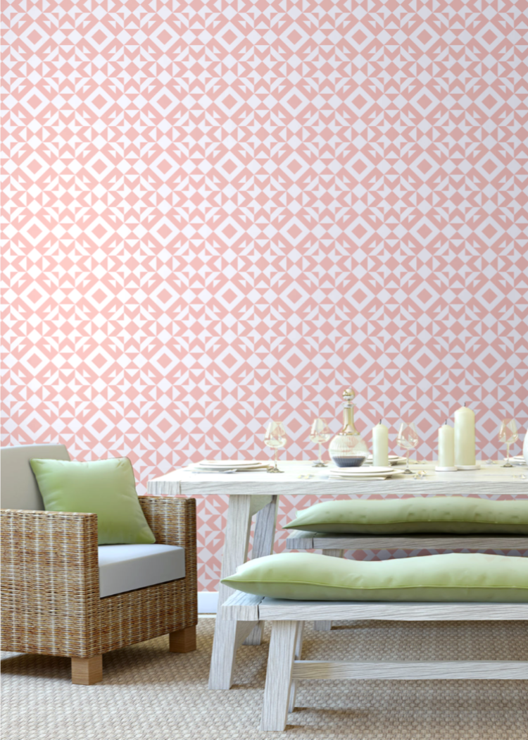 Crux - Bleached Coral Wallpaper - Art in Chaos