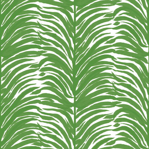 Deco Fern - Basil Wallpaper - Bohemian Bungalow Collection