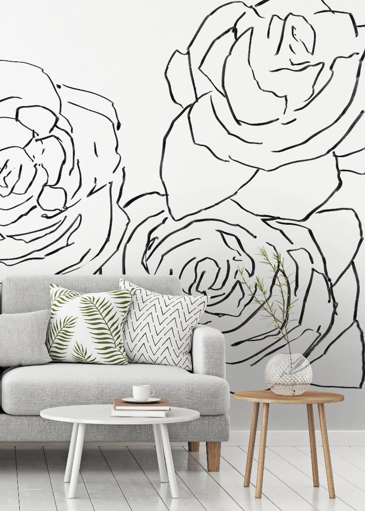 Desert Rose Wallpaper Mural