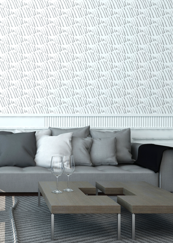 Diamond Back - Pencil Wallpaper - Nomad Collection