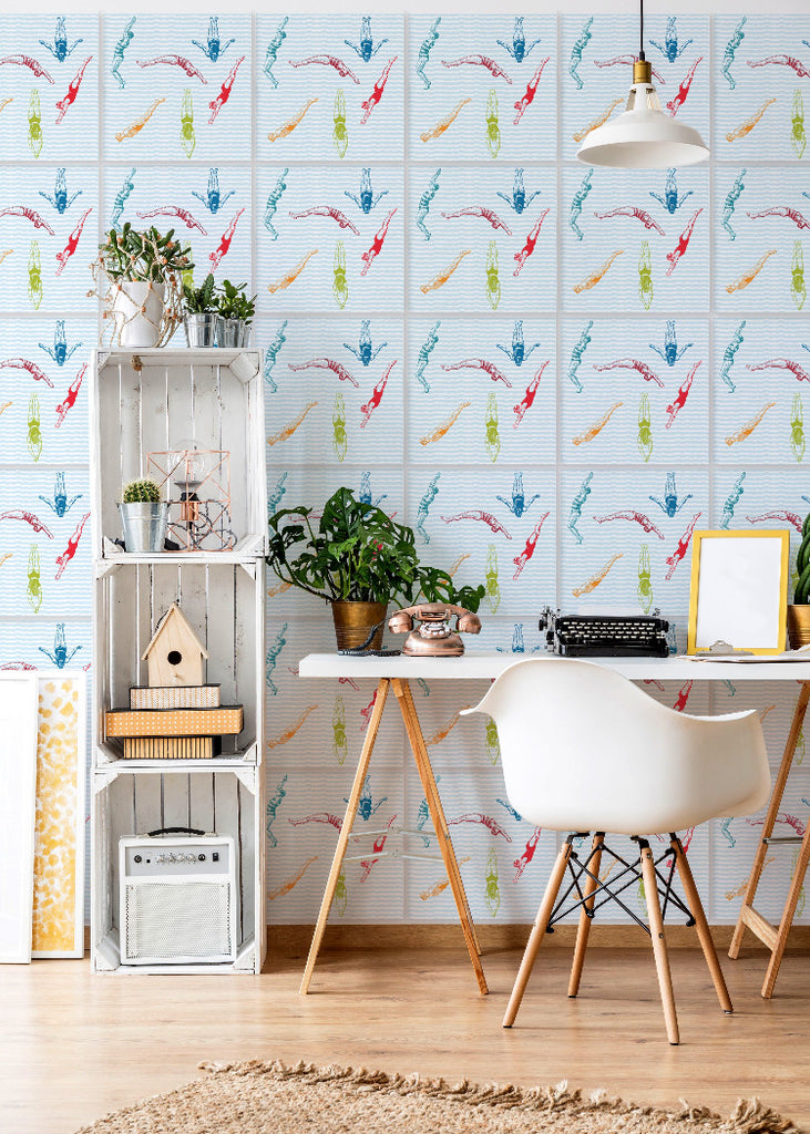 Wall Tile Dive In - Popsicle