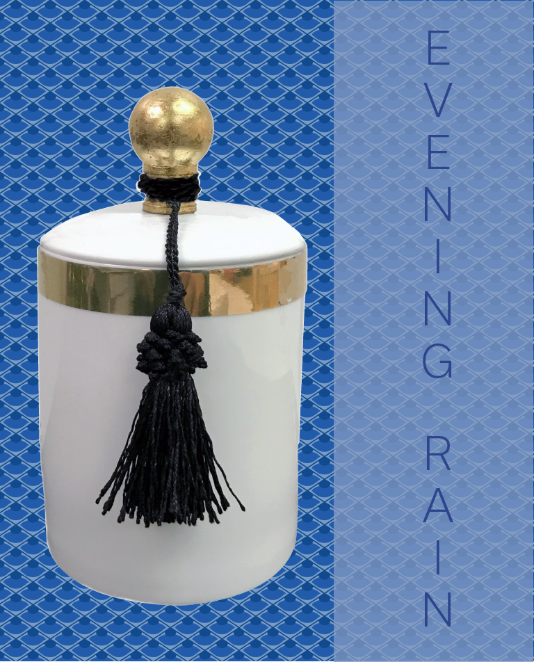 'EVENING RAIN' SHANGHAI CANDLE