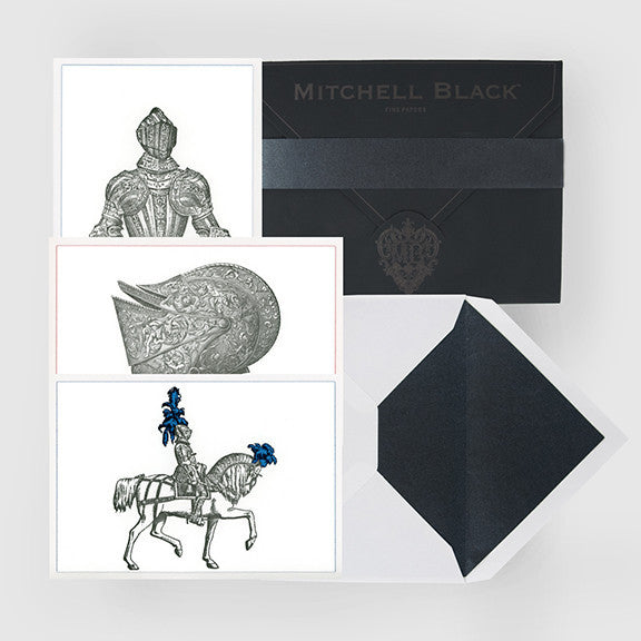 """CASTLE BLACK"" BOXED CARD ASSORTMENT"