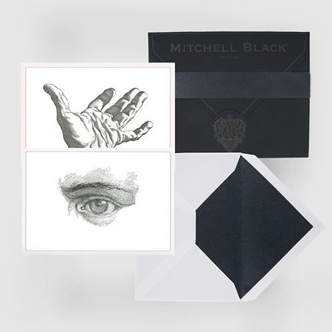 """LOOK/HAND"" BOXED CARD ASSORTMENT"