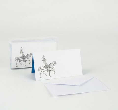 """PLUME KNIGHT"" ENCLOSURE / PLACECARD SET OF 8"