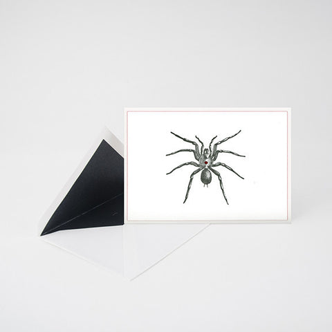 """CRAWLER"" LETTERPRESS BLANK NOTE CARD"