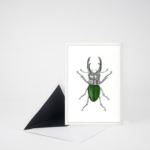 """GEORGE"" LETTERPRESS BLANK NOTE CARD"