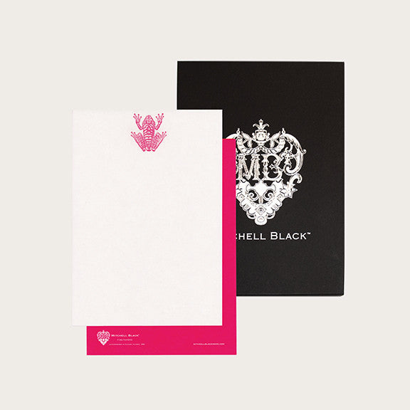 """FROG"" LETTERPRESS STATIONERY"