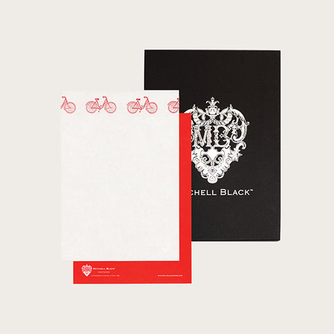 """BICYCLE"" LETTERPRESS STATIONERY"