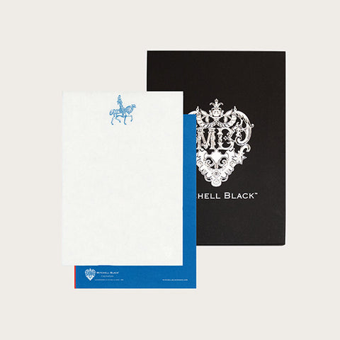 """PLUME KNIGHT"" LETTERPRESS STATIONERY"