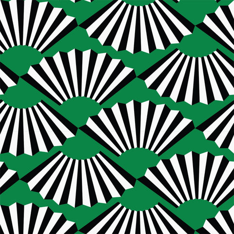 Fanning Out - Jade Wallpaper - JULIANNE TAYLOR STYLE