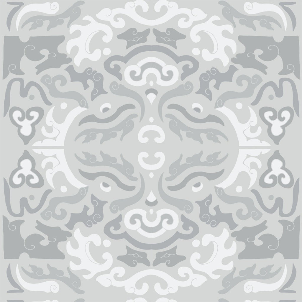 Foo You Looking At - Pewter Wallpaper - JULIANNE TAYLOR STYLE