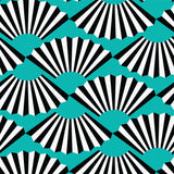 Fanning Out - Turquoise Wallpaper - JULIANNE TAYLOR STYLE
