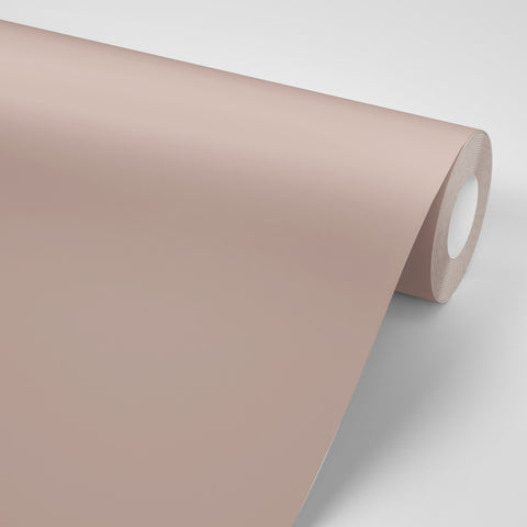 Paint replacement self adhesive paper in rose gold color made in USA by Mitchell Black Wallpaper in Chicago.