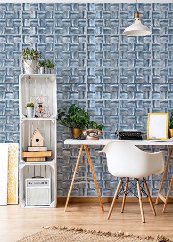 Wall Tile Hatch in Coastal Blue