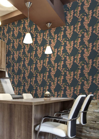 LUCKY Heart Breaker - Black Moss Wallpaper - Nomad Collection