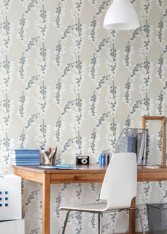 LUCKY Heart Breaker - Linen Wallpaper - Nomad Collection