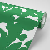Holly - Signature Green Wallpaper - Mrs Paranjape Papers