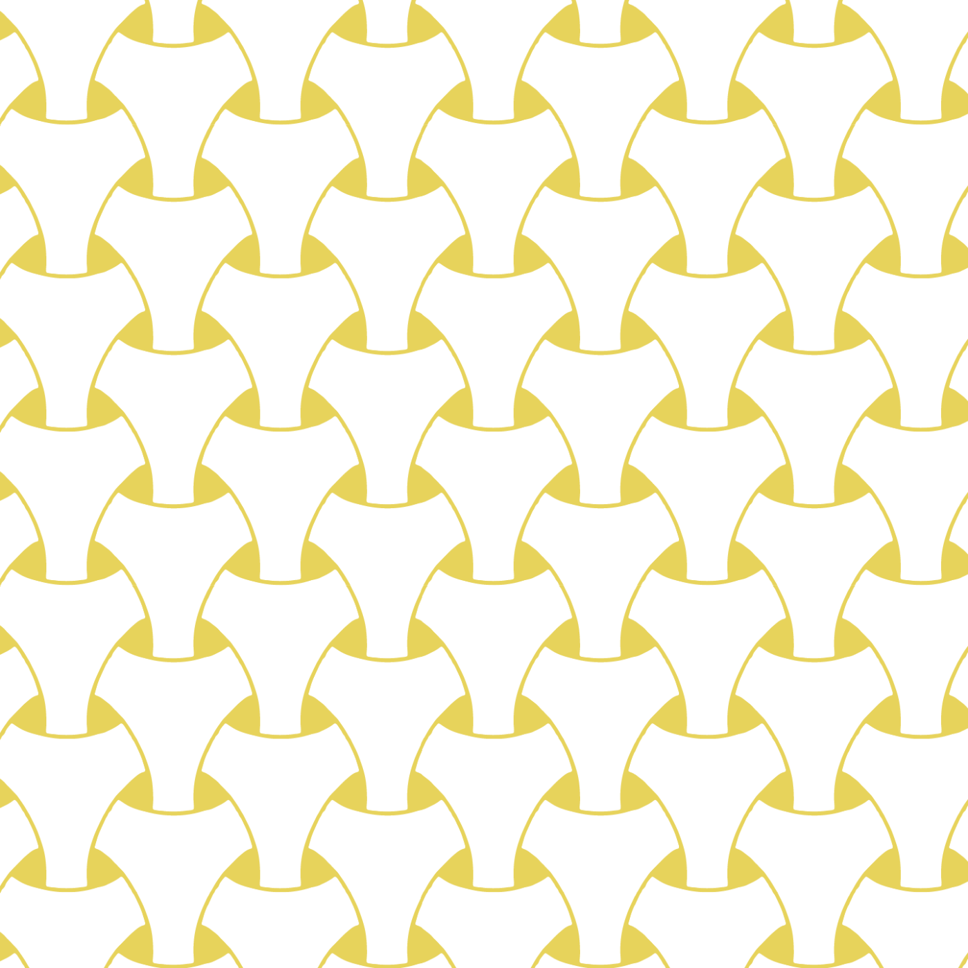 Island Weave - Dusty Yellow Wallpaper - Art in Chaos