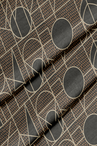 Kali Black Mocha Forbes + Masters - Fabric by the Yard
