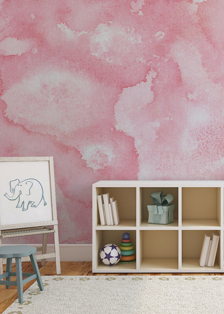 Petal Wallpaper Mural by Joyfire for Mitchell Black Chicago Beth Glover